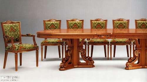 Итальянская мебель Citterio Fratelli - Стол овальный на 12 человек