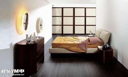 Итальянская мебель Pianca - Кровать Vintage в коже
