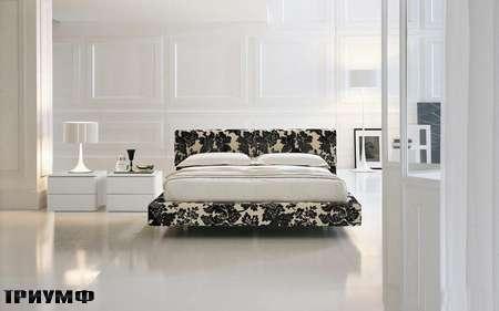 Итальянская мебель Presotto - кровать Greta в ткани