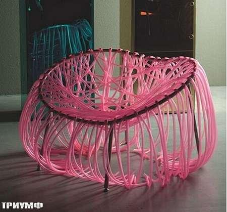 Итальянская мебель Edra - кресло anemone