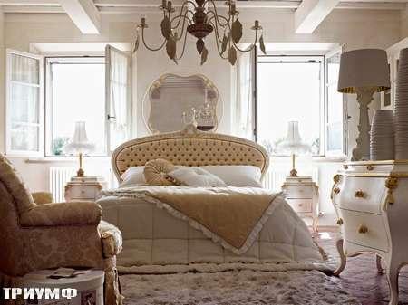 Итальянская мебель Volpi - кровать Persia