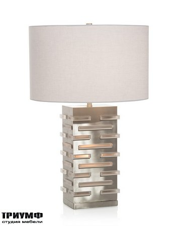 Американская мебель John Richard - Acrylic Blocks Illuminating Table Lamp