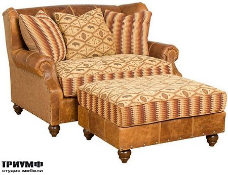 Американская мебель King Hickory - Lucy Settee