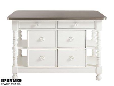 Американская мебель Universal Furniture - Bungalow Paula Deen Home Kitchen Island