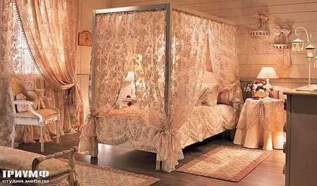Итальянская мебель Halley - Provence кровать с балдахином 2PR