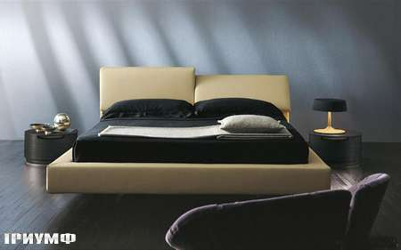 Итальянская мебель Presotto - кровать Greta с регулируемым изголовьем