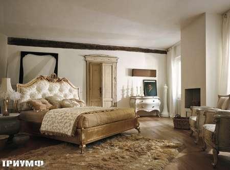 Итальянская мебель Volpi - кровать Sissy
