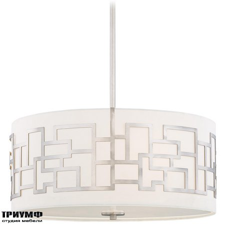 Американская мебель George Kovacs - 3 Light Pendant with Brushed Nickel finish