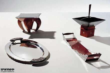 Итальянская мебель Driade - Аксессуары из металла и дерева