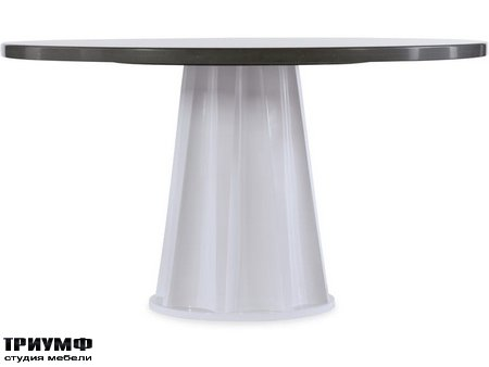 Американская мебель Hooker firniture - Melange Empire State of Mind Ped Dining Table
