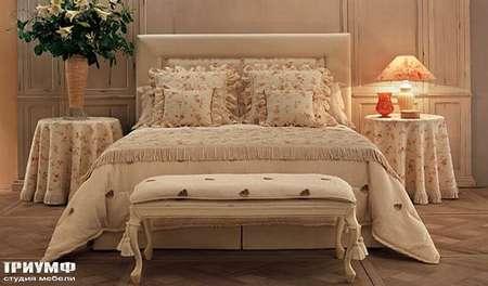 Итальянская мебель Halley - Provence collection кровать двуспальная