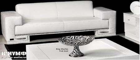 Итальянская мебель Formitalia - Диван Touring в белой коже