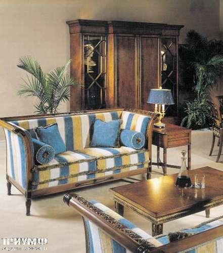 Итальянская мебель Francesco Molon - Диван в полосатой ткани