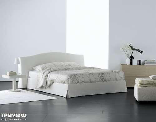 Итальянская мебель Flou - кровать orchidea cp fortuny