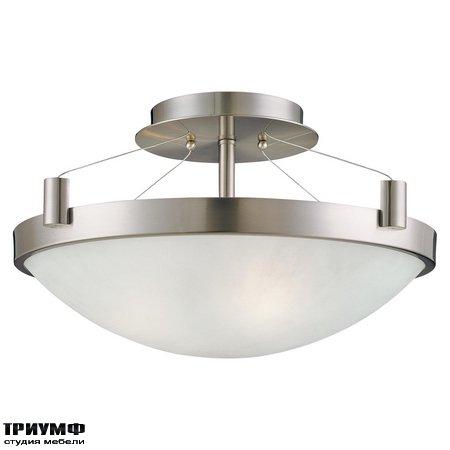 Американская мебель George Kovacs - 3 Light Semi Flush