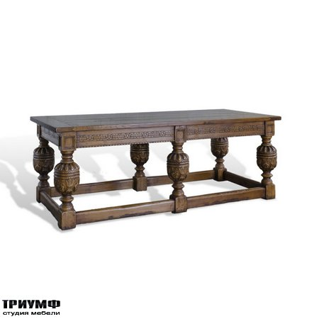 Американская мебель Ralph Lauren Home - ENGLISH REFECTORY TABLE