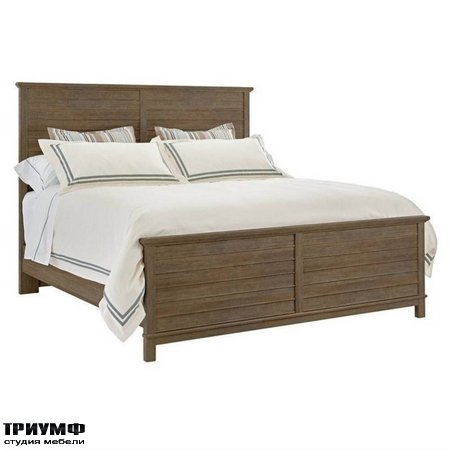 Американская мебель Stanley - Resort Cape Comber Panel Bed Queen in Deck