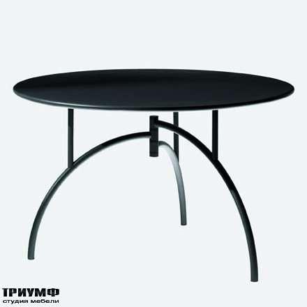 Итальянская мебель Driade - Стол круглый, полукруглые ножки
