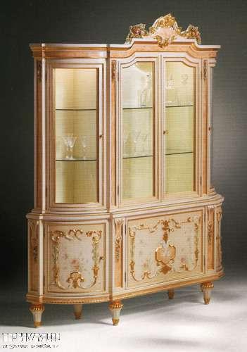 Итальянская мебель Citterio Fratelli - Классическая витрина Lille закругленная