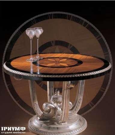 Итальянская мебель Ezio Bellotti - Стол с инкрустацией