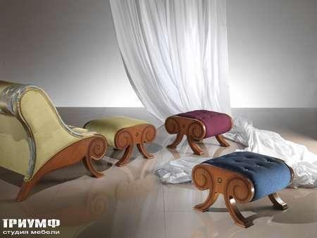 Итальянская мебель Carpanelli Spa - Пуф Glamour PO22