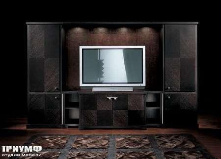 Итальянская мебель Smania - Стенка под ТВ Must Set Deluxe