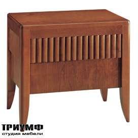 Итальянская мебель Morelato - Тумба ночная с рифленым ящиком