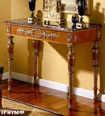 Итальянская мебель Colombo Mobili - Консоль в имперском стиле арт.387 кол. Puccini