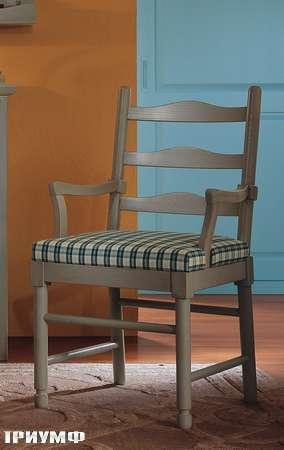 Итальянская мебель De Baggis - Стул с подлокотниками RV451