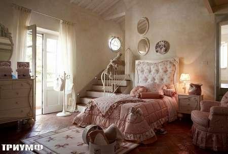 Итальянская мебель Volpi - кровать односпальная Botero