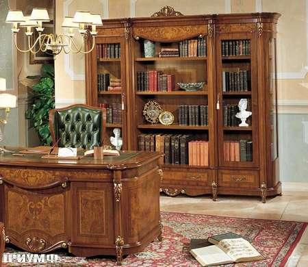 Итальянская мебель Grilli - Библиотека с короной