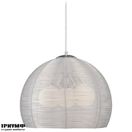 Американская мебель George Kovacs - 3 Light Wire Basket Pendent