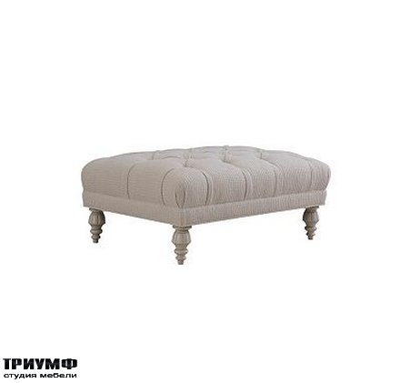 Американская мебель Henredon - GREENWICH CUSTOM OTTOMAN