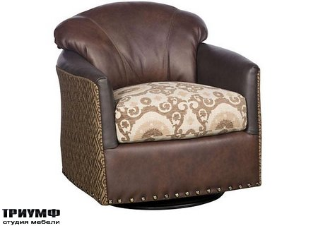 Американская мебель King Hickory - Zeuss Swivel Glide Chair