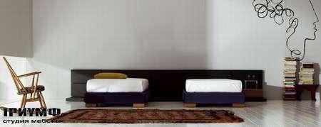 Итальянская мебель Pianca - Кровати Mia Vintage Tatami раздельные