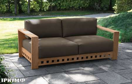 Итальянская мебель Meridiani - диван OPEN AIR