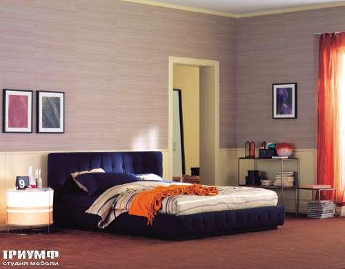 Итальянская мебель Flou - кровать pinch