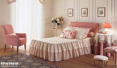 Итальянская мебель Halley - Кровать Morgan, подростковая для девочки