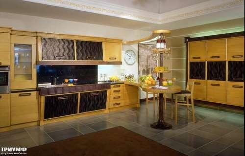 Итальянская мебель Arca - Кухня Orizzonte массив вишни Италия