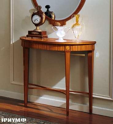 Итальянская мебель Colombo Mobili - Консоль в стиле Бидермайер арт.208 кол. Salieri