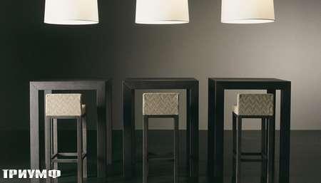 Итальянская мебель Meridiani - барные стулья Cage