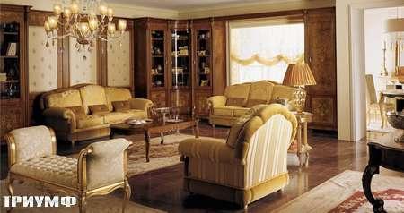 Итальянская мебель Grilli - Журнальный стол с инкрустацией