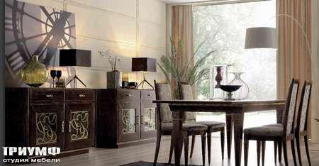 Итальянская мебель Giorgio Casa - Сasa Serena комод, стол и стулья