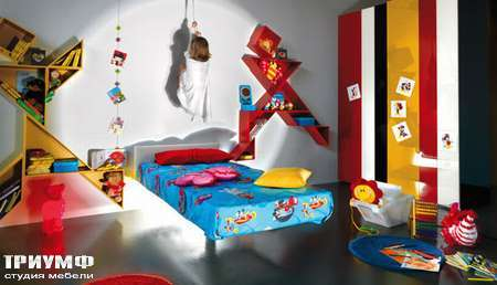 Итальянская мебель Lago - детская