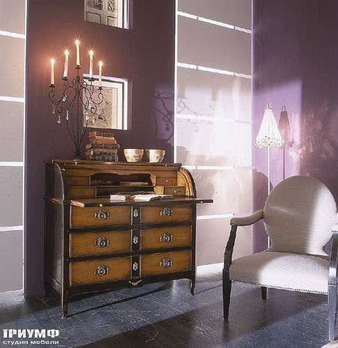 Итальянская мебель Bizzotto - Бюро с выдвижной полкой, орех