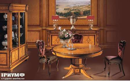 Итальянская мебель Ezio Bellotti - Витрина 2-х дверная