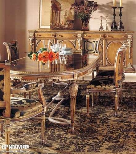 Итальянская мебель Francesco Molon - Стол обеденный овальный