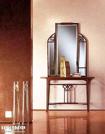 Итальянская мебель Medea - Столик туалетный арт. 306, зеркало арт. 302