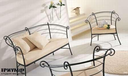 Итальянская мебель Ciacci - Диван Sally, кресло Sally