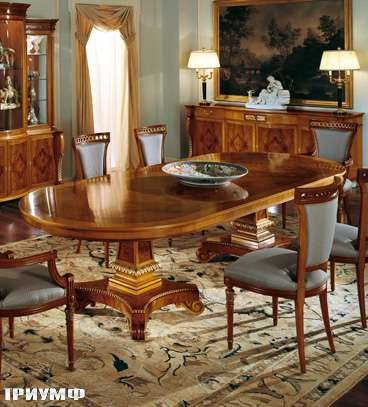 Итальянская мебель Colombo Mobili - Обеденный стол арт. 294 кол. Monteverde